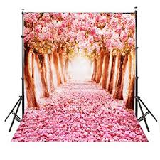 back drop mohoo 5x7ft silk photography backdrop cherry blossoms
