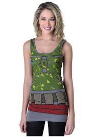women u0027s star wars boba tunic tank halloween costumes