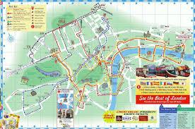 London Bus Map Map Of Hop On Hop Off London Tour Planning Lanscape Pinterest