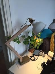 lampe industrielle bois ikea ranarp ikea lampdesk