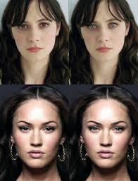 see what you would look like with different color hair eye color and the perception of beauty the meta picture