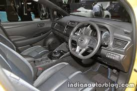nissan leaf 2017 interior 2018 nissan leaf interior dashboard steering wheel at the tokyo