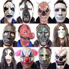 faceless mask halloween slipknot style latex masks mick death borgir clown mask halloween