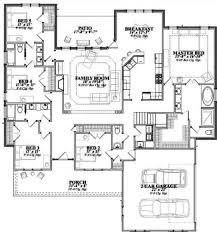 southern style house plan 5 beds 3 00 baths 2740 sq ft plan 63