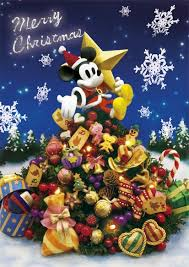 disney mickey and tree 3d lenticular greeting card