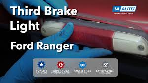 ford f350 third brake light bulb how to install replace third brake light and bulbs 1995 03 ford