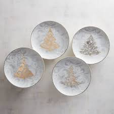 tree appetizer plates set of 4 pier 1 imports