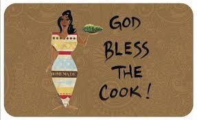god bless the cook interior floor mat