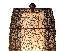 Wicker Light Fixture by 30