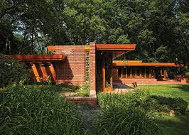 frank lloyd wright inspired home with lush landscaping detroit home magazine the good earth a glorious bloomfield hills