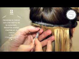 elegance hair extensions paso a paso colocación extensiones cortina elegance hair