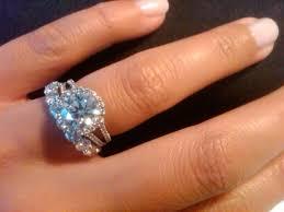 eternity ring finger can i see your split shank halos weddingbee