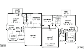 duplex plans with garage u2013 venidami us