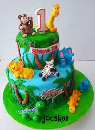 1 tier jungle cake google search cake idea pinterest