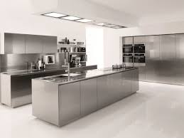 stainless steel island for kitchen deluxe stainless steel island gray cabinets integral sink floating