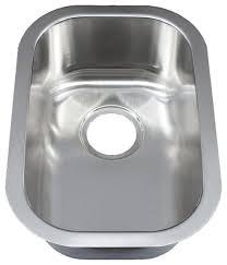 Ellis Stainless Steel Undermount Kitchen Sink Small Single - Smallest kitchen sink