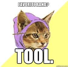Meme Tool - favorite band tool cat meme cat planet cat planet