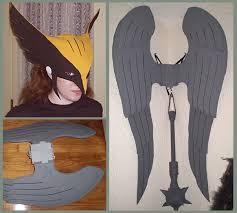 Hawkgirl Halloween Costume Hawkgirl Costume Craftywingy Jpg 582 523 Costumes