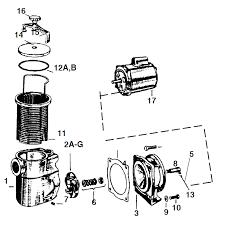 jacuzzi pump parts pool u0026 spa pumps poguepoolspa com