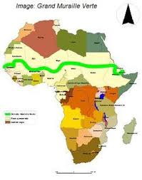 Sahel Desert Map Africa U0027s Green Wall To Block Terrorism