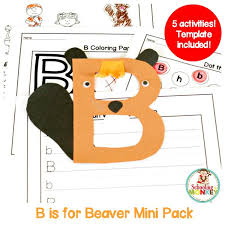 letter b activity mini pack