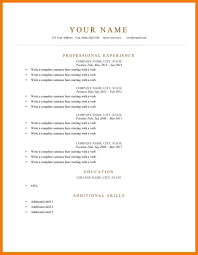 show me a resume example resume example and free resume maker