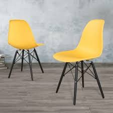 Yellow Dining Chair Yellow Kitchen Dining Room Chairs For Less Overstock