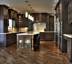 Images Of Kitchens With Black Cabinets Kitchens With Vaulted Ceilings Black Leather Stools White Bar