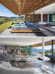 Outdoor Livingroom This Modern Mediterranean House Allows The Ocean Breeze To Pass