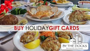 restaurant gift cards online buy gift cards by the docks restaurant
