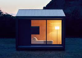 muji unveils tiny house for 27k muji hut tiny houses and