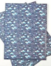 minecraft wrapping paper grey wrapping paper ebay