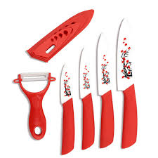 Set Of Kitchen Knives Environmental Protection Ceramic Knife Set Kitchen Accessories