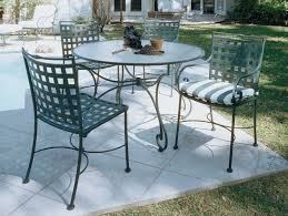 Wrought Iron Patio Table And Chairs Paint The Wrought Iron Patio Furniture U2014 The Home Redesign