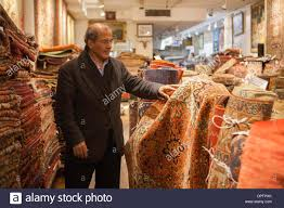 Persian Rugs Nyc by New York Ny Usa 15th January 2014 Hamid Kermanshah The Owner Of