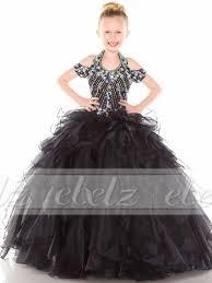 wholesale 2015 new black flower u0027s kids wedding pageant party