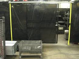Laser Safety Curtains Machine Perimeter Guarding Wire Mesh Safety Fencing