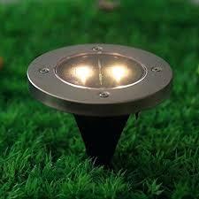 garden ground lights solar powered ground light outdoor ground