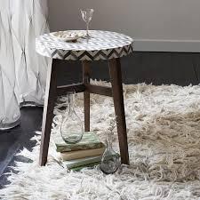chevron wool shag rug west elm