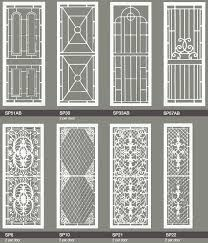 Captivating Door Grill Design Catalogue Pdf Contemporary Image