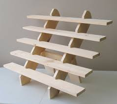 Display Shelving by Collapsible Riser Portable Display Stand Store Countertop