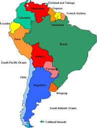 south america map bolivia political map of south america south america ecuador south