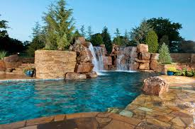 The Present Backyard Pool Designs  Unique Hardscape Design - Great backyard pool designs