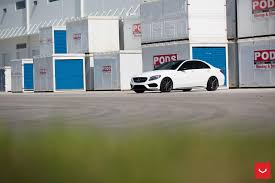 vossen wheels mercedes benz c class vossen flow formed series