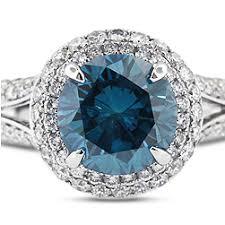 blue engagement rings blue engagement rings