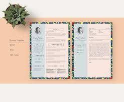 78 best cv template resume template letterhead images on