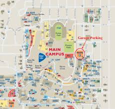 Map Of The State Of Kansas by Visiting Campus Parking