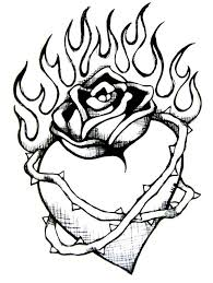 coloring pages flames funycoloring