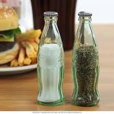 coca cola collectables retro coke gifts coca cola gift ideas coca cola mini contour bottle salt and pepper shakers