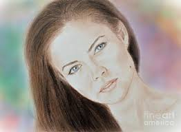 commercial actress with mole on face facial mole drawings fine art america